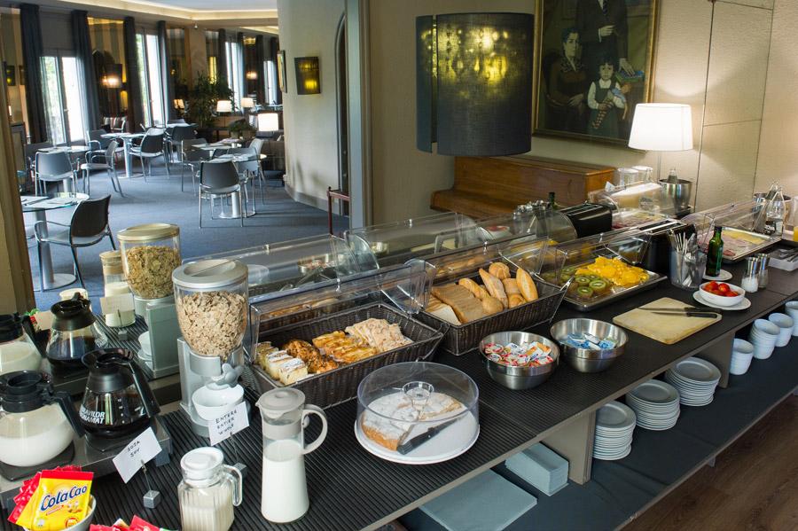 Hotel Paseo de Gracia - Desayun buffet