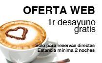 Hotel en Barcelona - Oferta desayuno gratis