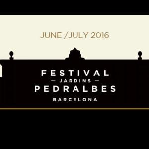 Pedralbes Festival Barcelona 2016