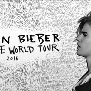 Justin Bieber in concert in Barcelona