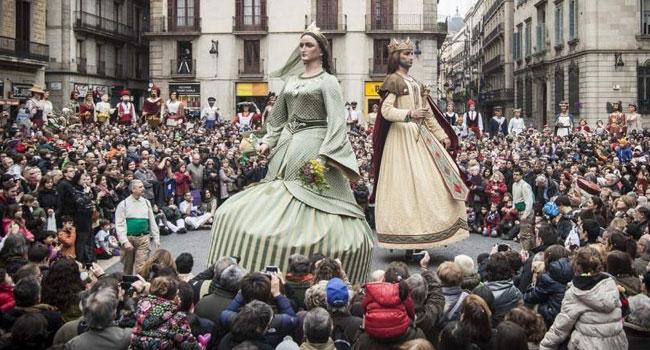 Festes de Santa Eulalia - gegants