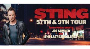 Sting in concert in Barcelona