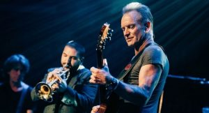 Sting en concierto en Barcelona