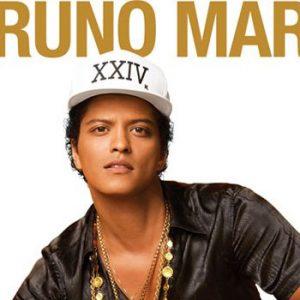Bruno Mars en concierto en Barcelona
