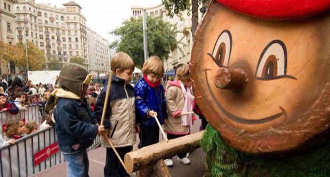 Navidad en Barcelona - el Cagatió