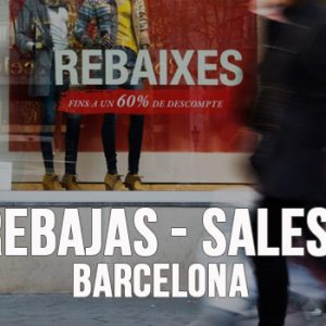Winter Sales in Barcelona