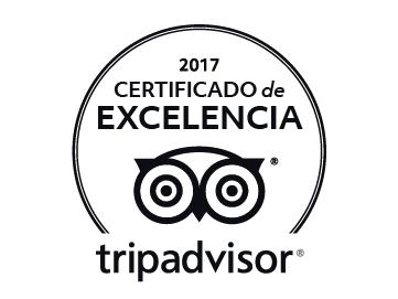 Tripadvisor Certificado Excelencia Hotel Paseo de Gracia 2017