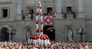 Fiestas de La Mercè Barcelona Castellers