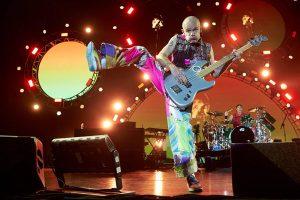 Red Hot Chili Peppers en concierto en Barcelona