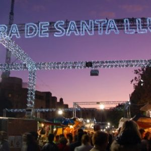 Fira de Santa Llúcia Barcelona