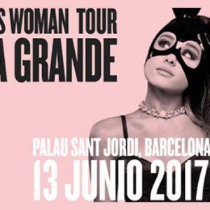 Ariana Grande in concert in Barcelona