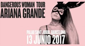 Ariana Grande en concierto en Barcelona