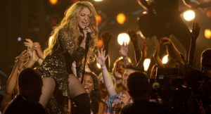 Shakira en concierto en Barcelona 2017
