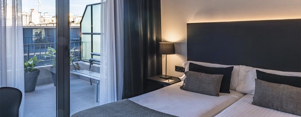 hotel al centre de Barcelona
